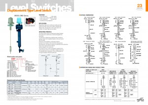 Hanla IMS - DMS Series Level Switch