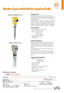 Hanla IMS - Swing Series Level Switch