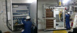 Maersk Culzean FSO Hydraulic Watertight Sliding Door