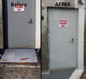 USNS Millinocket Door